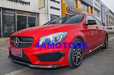 Carbon Fiber OE-Style Front Spoiler Lip Spoiler For Benz W117 CLA250 AF-0328