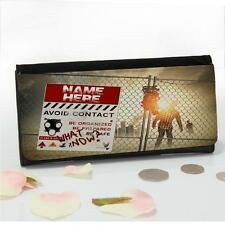 Personalised Zombie Walking Dead Large Ladies Money Coin Purse Mum Gift ST395