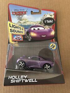 Mattel Disney Pixar Cars 2 HOLLEY SHIFTWELL Lights & Sounds Vehicle Talk Rare