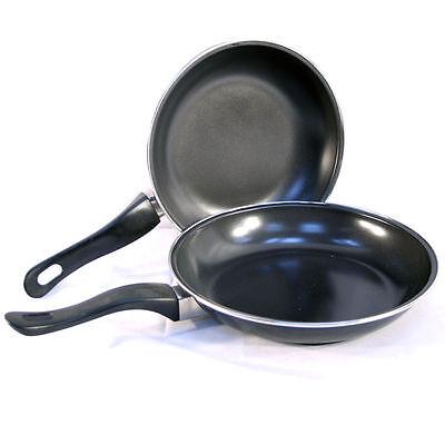2pc Non Stick Cooking Wok Pan Set Prima Kitchenwear