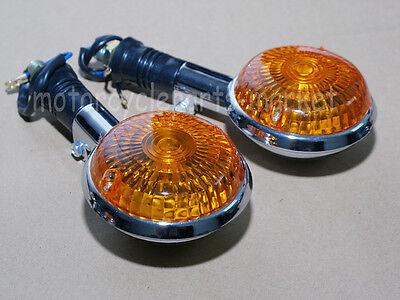 Front Pair Turn signal Indicator Stem for Yamaha Maxim XJ550 XJ700 XJ700X