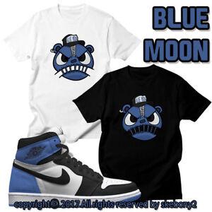 "d6e27ecf2690 CUSTOM T SHIRT Air Jordan 1 Retro High OG ""Blue Moon"