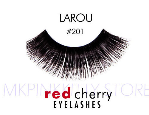 9a26c5a2ca6 () Red Cherry #201 False Eyelashes Fake Lashes Black Long Strip 2 Pairs for  sale online | eBay