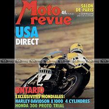 MOTO REVUE N°2238 YAMAHA XT 500 TT BULTACO 125 HARLEY DAVIDSON X1000 X 1000 '75