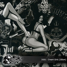 1m of Dream Girls (DG01) 100cm hydrographics water transfer film
