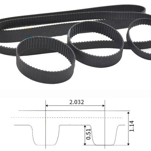 22MXL-99MXL Timing Belt 6mm 10mm Width Rubber Belt for CNC Printer Transmission