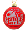 Tree-Buddees-You-serious-Clark-Red-Glass-Christmas-Vacation-Ornament-Ornaments thumbnail 1