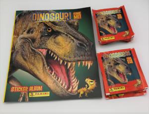 50 bustine sigillate figurine Panini Dinosauri Come Me Like me album vuoto