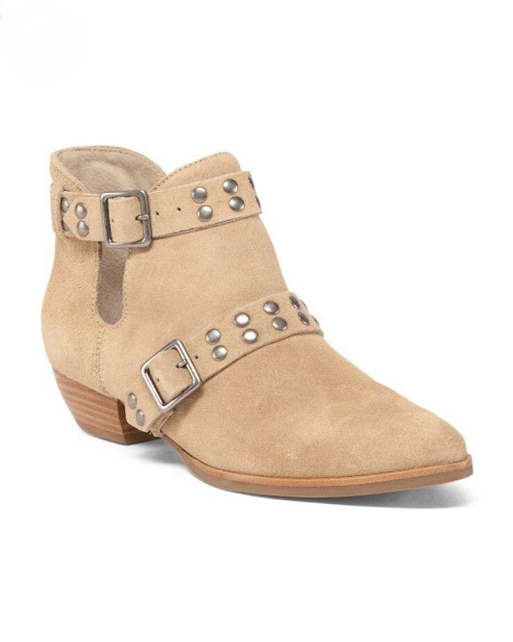 MATISSE NEIL Studier Studier Studier av WESTERN Tan mocka kort Ankle Cowboy Boot SZ 7.5  199 NIB  den bästa after-sales-tjänsten