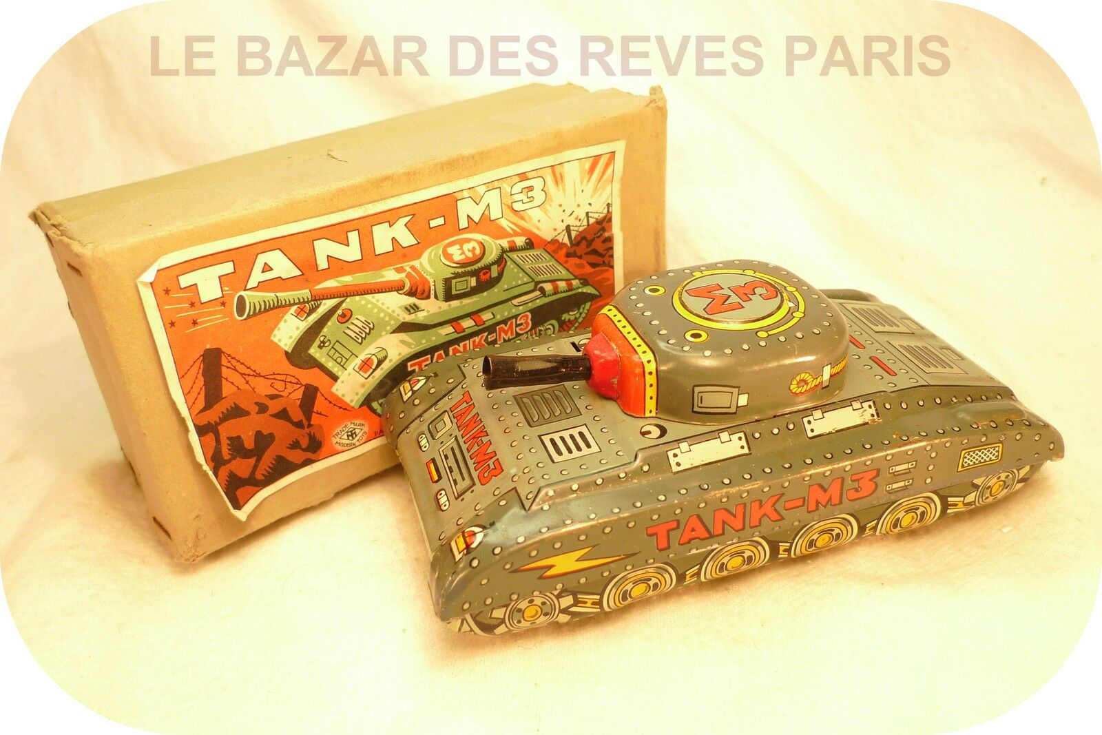 Char  Tank M3  made in japan