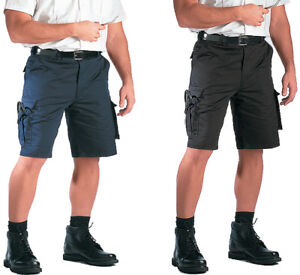 Tactical Uniform Cargo Shorts 7 Pocket Work Duty Security EMS EMT ... 69a84e72432