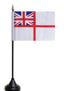 Royal-Navy-White-Ensign-Polyester-Table-Desk-Flag