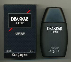 Guy-Laroche-Drakkar-Noir-After-Shave-Lotion-50ml-New-amp-Rare