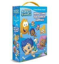 Here Come the Bubble Guppies! (Bubble Guppies) by Mary Tillworth (2013, Board...