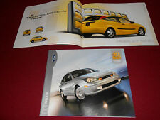 2003 FORD FOCUS 24 p. BROCHURE, SALES CATALOG: ZX3, ZX5, LX, SE, ZTS, ZTW