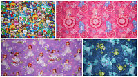 Childrens Character Curtains - Made To Measure