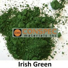 IRISH GREEN Concrete Color Pigment Dye for Cement Mortar Grout Pool Plaster 2 oz
