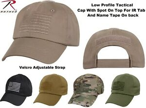 d952d596726 Image is loading Tactical-Operator-Cap-Military-Contractor-Hat-With- Embroidered-