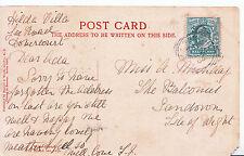 Genealogy Postcard - Family History - Munday - Sandown - Isle of Wight  GN823