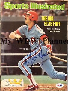 Mike-Schmidt-Philadelphia-Phillies-Signed-Magazine-PSA-DNA