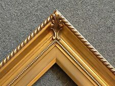 """3.25"""" Gold Wood Antique Picture Frame photo art gallery 24x36 296G"""