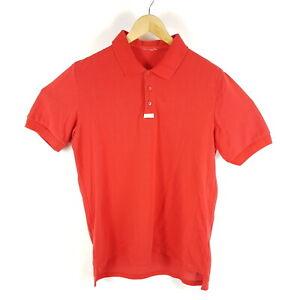 Vintage-Adidas-Poloshirt-Herren-Gr-56-XXL-Rot-Kurzarm-Trefoil-Logo
