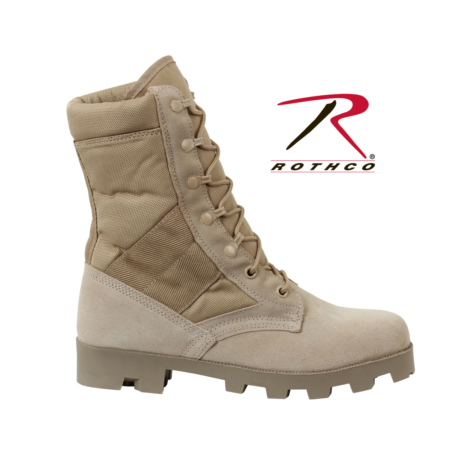 redhco 5057 G.I. Type Speedlace Desert Tan Jungle Boot