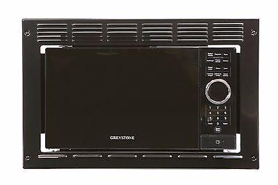 Rv Motorhome Greystone Black Built In Microwave 0 9 Cuft W