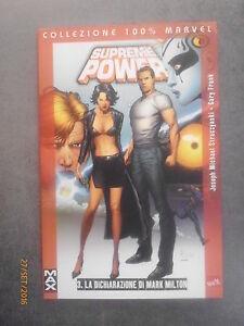 SUPREME POWER n° 3 - La dichiarazione... - 100% Marvel - Ed. Panini Comic - 2006