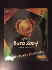 Panini Euro 2004 - Album Vide Empty + Set Complet Sealed Blister