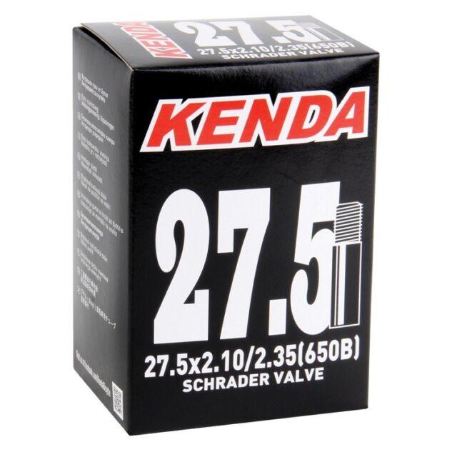 "2x Kenda 650B 27.5/"" PRESTA MTB Tube 27.5x2.1//2.35 F//V 36mm Valve 2-pack"