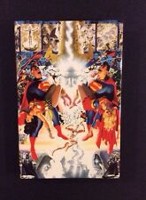 CRISIS ON INFINITE EARTHS HC Book Ltd Ed 1st Print Alex Ross George Perez Cover