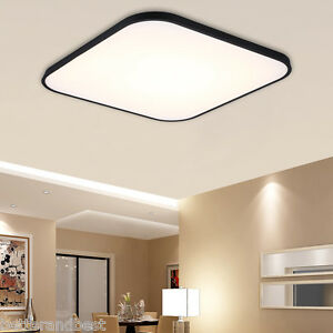 30W Dimmable Square LED Flush Mount Ceiling Light for