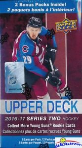 2016/17 Upper Deck Series 2 Hockey EXCLUSIVE Factory Sealed 12 Pack Blaster Box