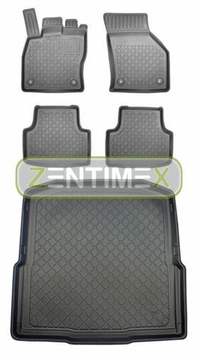 Z330798 set alfombrilla de Tina goma tapices para Skoda Octavia Combi style 3 5e Ko
