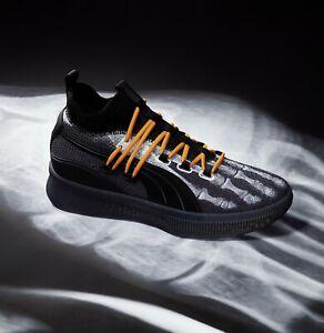 De tormenta Carnicero hostilidad  Puma CLYDE COURT X-Ray Skeleton Halloween Black Orange Air Force 1 Mens 10  Shoes | eBay