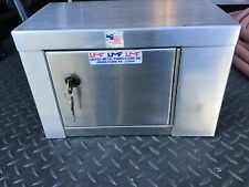 Storage Cabinet Gun Safe box Toy hauler Pit Trailer Shelf Rack Stainless Steel