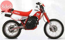 Yamaha TT 350 (1985) - Workshop Manual on CD