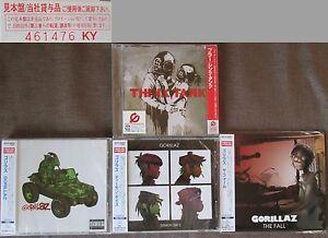 Sealed-PROMO-BLUR-GORILLAS-Lot-of-4-JAPAN-CD-WPCR-80058-Forever-Young-OBI-2014