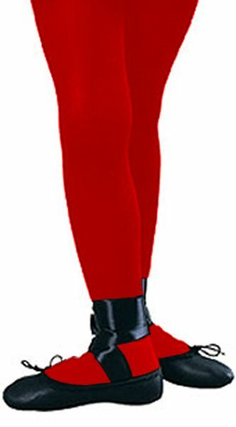Rubies Girl's Fashion Solid Color Fashion Tights in Black, Red, White or Orange