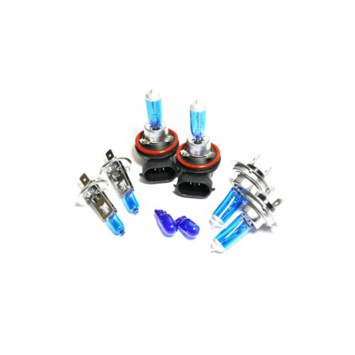 H1 H7 H11 501 55w ICE Blue Xenon HID High//Low//Fog//Side Light Headlight Bulbs