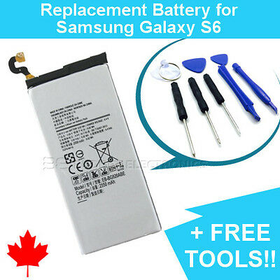 NEW Samsung Galaxy S6 Replacement Battery EB-BG920ABE with FREE Repair Tools