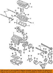 honda oem valve lifter 14820rkg003 ebay rh ebay com Engine Diagram with Labels Car Engine Diagram