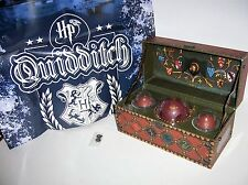 """Harry Potter Collectable Quidditch Balls Snitch Poster Trunk Set 9"""" x 4 5/8"""""""