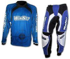 WinNet maglia per moto da cross blu Yamaha