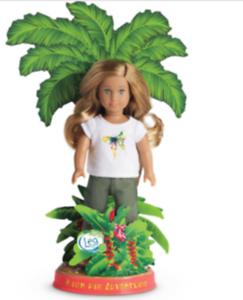 American-Girl-LEA-Clark-Mini-Adventure-Doll-6-in-NEW-in-Box