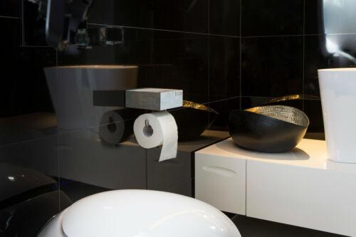CO33 Design WC-Rollenhalter Toilettenpapierhalter aus Beton handgefertigt in DE