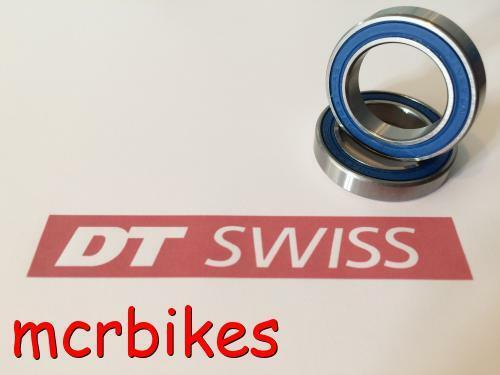 DT SWISS 340 12mm Rear Wheel Hub Bearings 15mm// 20mm// FRONT /& QR 370 QR