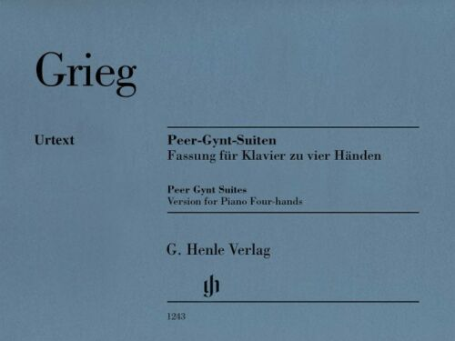 Edvard Grieg Peer Gynt Suites Sheet Music Version for Piano Four-Hands 051481243