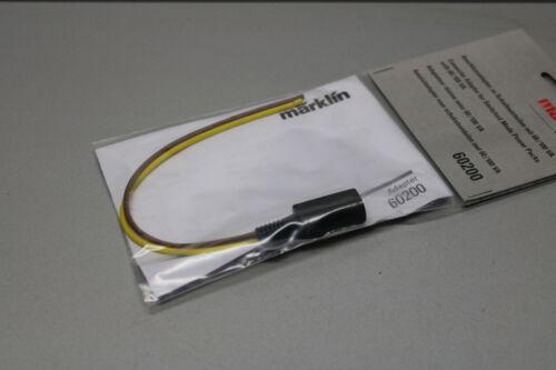 Märklin 60200 Anschlussadapter zu Schaltnetzteilen mit 60//100 VA Spur H0 OVP
